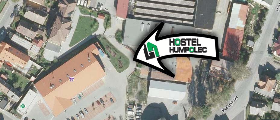 Mapa Hostel